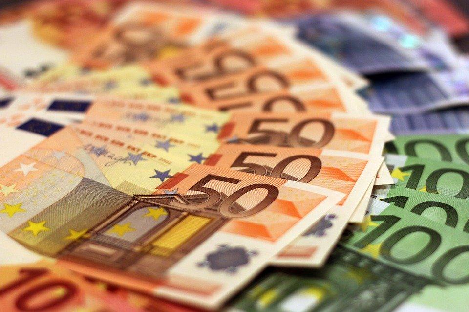 eura rozložená