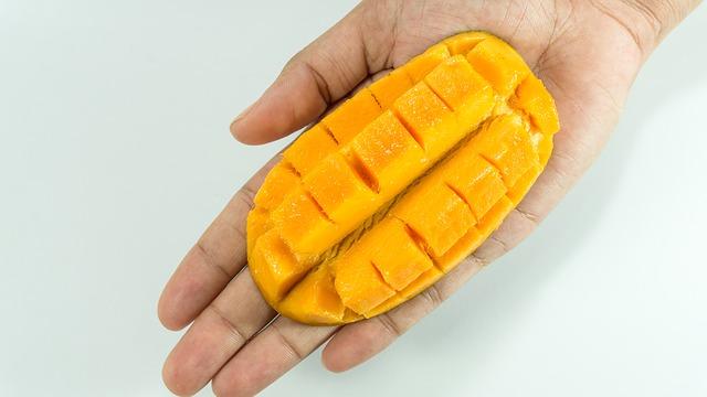 nařezané mango