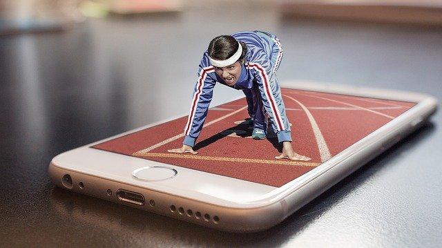 sport v mobilu