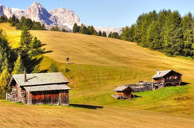 léto v horách