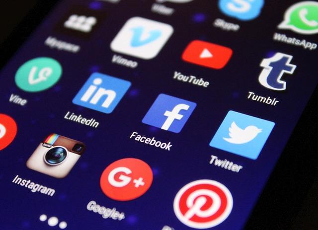 aplikace sociálních síí