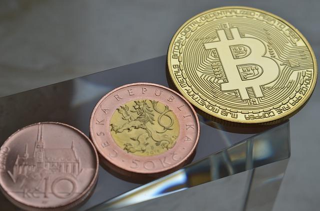 koruny a bitcoin