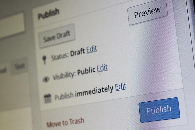 pracující wordpress software
